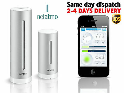 Netatmo Weather Station for iPhone, iPad and Android mobile devices