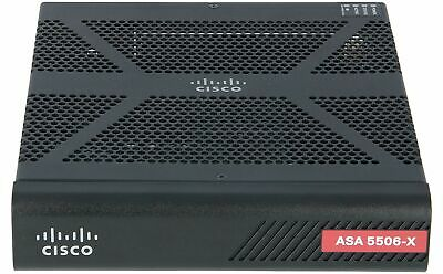 CISCO - ASA5506-K9 - ASA 5506-X with FirePOWER services, 8GE, AC, 3DES/AES
