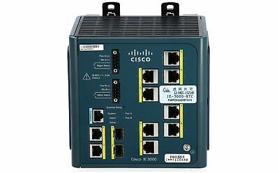 CISCO - IE-3000-8TC - Cisco IE 3000 Switch, 8 10/100 + 2 T/SFP