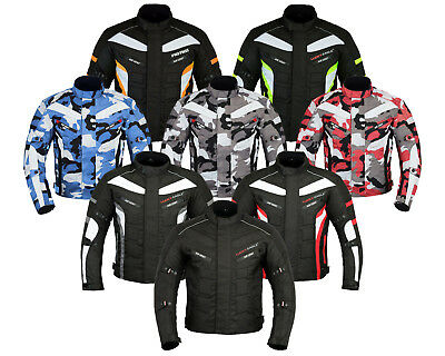 Motorbike Waterproof Cordura Motorcycle Armours Bike Style CE Approved Jacket