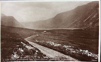 THE UPPER BOTHY, LOCH EINICH, CAIRNGORMS - RP Postcard JB White of Dundee