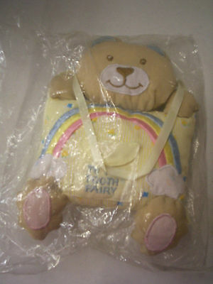 Tooth Fairy Pillow, Handcrafted In The Philippines, Bear Design, Brand New
