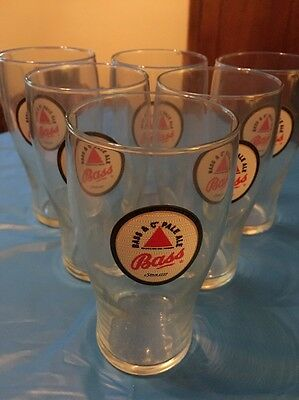 Bass & Co. Pale Ale Beer Glasses Set Of 6