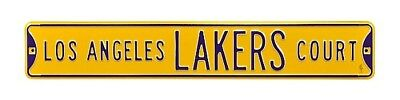 Los Angeles Lakers Strassenschild,Street Sign,NBA Basketball,91 cm !!,MUST SEE