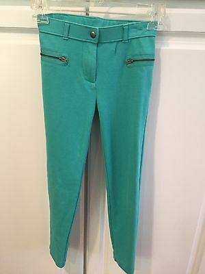 crewcuts girls green pants size 10