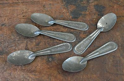 Vintage Central Candy Co Tin Metal Ice Cream Sampling Spoons