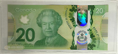 Canada $20 2015 Commemorative *new* Polymer - Unc - Queen Reign - Bank Note Bill