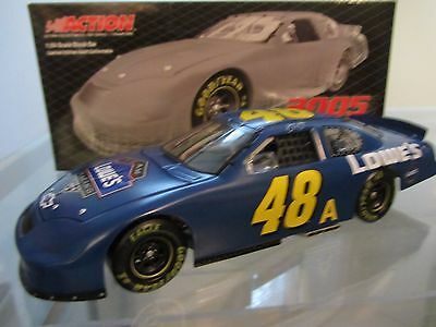 Jimmie Johnson #48 Lowe's Test Car 2005 Action 1/24 Scale NASCAR Diecast