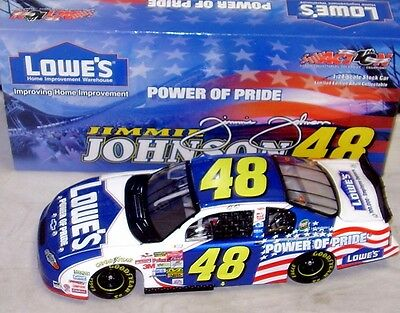Jimmie Johnson #48 Power of Pride 2002 Action 1/24 Scale NASCAR Diecast