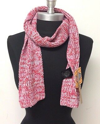 New Kids Winter Warm Soft Knitted long Scarf Wrap Color Red/Pink/Blue