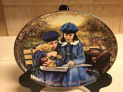 Seasons of Sharing Sisters for Life Sisters Share Tender Times Plate