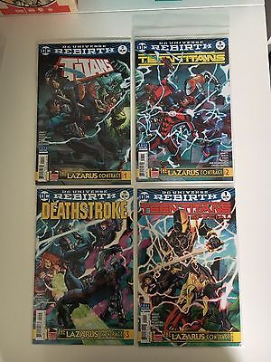 Teen Titans / Deathstroke - Lazarus Contract COMPLETE 1st Prints DC Comics