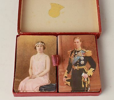 King George VI and Queen Elizabeth Playing Cards 1936 Anderson's Great Britian
