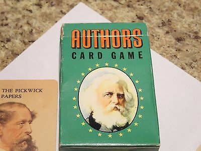 Authors Card Game by Whitman Publishing Co