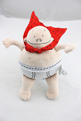Captain Underpants Merry Makers Plush Toy 8 inch Stuffed Figure Doll