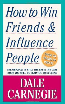 How to Win Friends and Influence People, Dale Carnegie Paperback Book The Cheap
