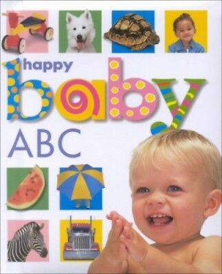 Happy Baby ABC Hardback Book The Cheap Fast Free Post
