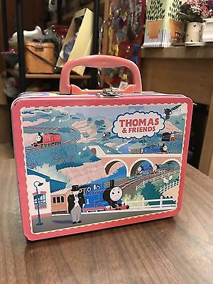 Thomas And Friends Metal Lunchbox Cartoon Animation Collectible Children Dinner