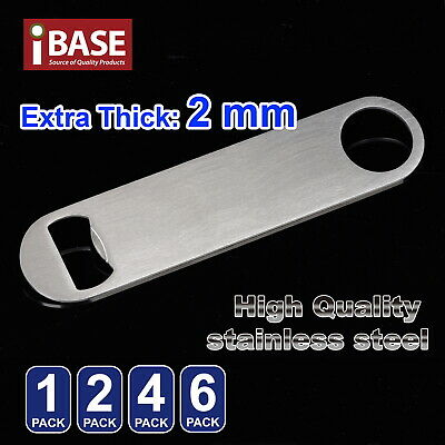 Speed Bottle Opener Stainless Steel Flat Bar Blade Cap Remover Can Beer Drink