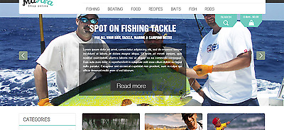 Fish Item Collection Store Magento for Sale