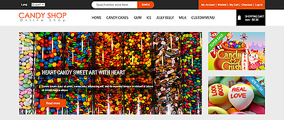 Candy Crush Shop Magento for Sale