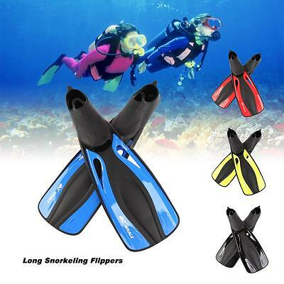 WHALE Diving Fin For Long Swimming Snorkeling Snorkel Fins Adult Unisex Kid K0G9