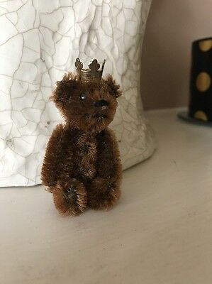 Schuco Miniature Bear Removable Head .