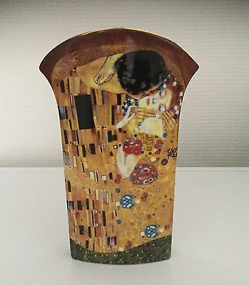 Vase Collection Le Baiser Gustav Klimt
