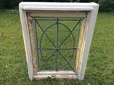 Antique Americana Leaded Window