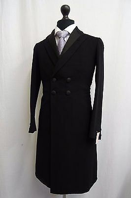 Men's Vintage Bespoke 1930's Morning Coat Tailcoat Size 34 SS9668