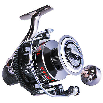 Spinning Fishing Reel All Metal Strong for Left/Right Saltwater Freshwater Reels