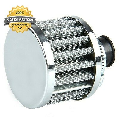 Mintice™ 12mm Mini Sliver Universal Car Motor Cone Cold Clean Air Intake...