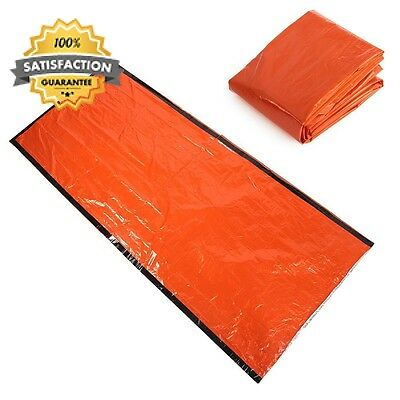 Shsyue® Emergency Sleeping Bag Camping Outdoor Survival Tarp Shelter...