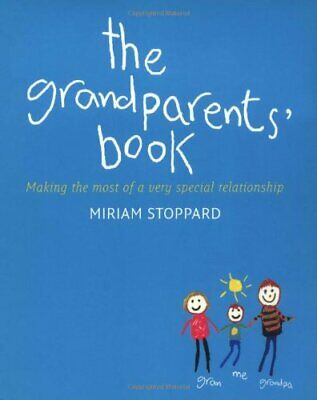 The Grandparents' Book by Miriam Stoppard Hardback Book The Cheap Fast Free Post