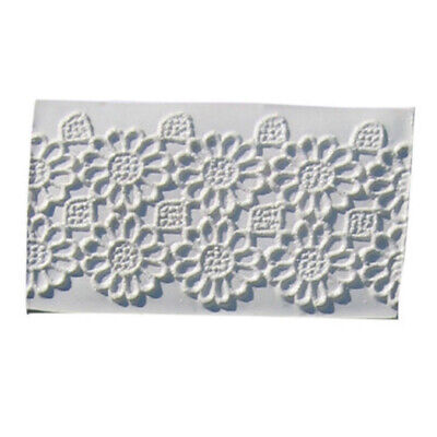 Squires Kitchen Lace Geometric Flower Cake Decorating Sugarcraft Silicone Mould