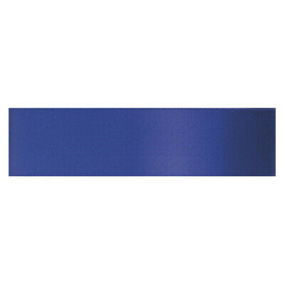 Culpitt INK BLUE 25mm x 25m Double Faced Satin Ribbon Cake Decoration Bows Craft