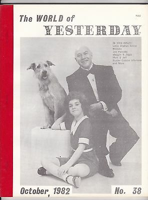 WORLD OF YESTERDAY No.38 US FILM MAG 1982 ORPHAN ANNIE, BLONDIE, BUSTER CRABBE