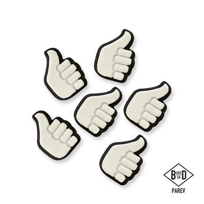 PME Handcrafted THUMBS UP Sugar Decoration Edible Cake TopperIcing Decorating