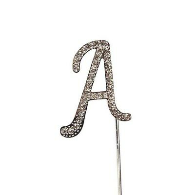 Culpitt A Diamante Letter Topper Wedding Anniversary Birthday Cake Decorations