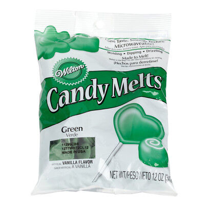 20 x Wilton 12 oz (340g) DARK GREEN Candy Melts For Cake Pops Sweets Decoration