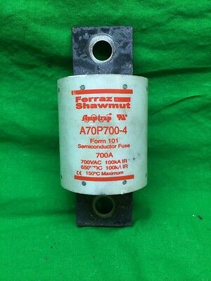 Gould Shawmut AmpTrap A70P700-4 Semiconductor Fuse