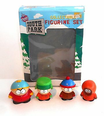 Vintage 1998 Comedy Central South Park ~ COLLECTABLE FIGURINE SET ~ Boxed