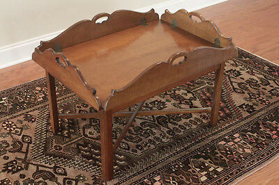 Antique Butlers Tray Coffee Table, Excellent Condition by owner Reduced