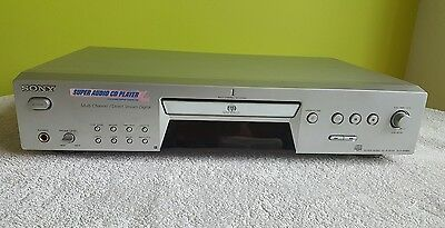 sony scd xe680 qs super audio cd player silver. Black Bedroom Furniture Sets. Home Design Ideas
