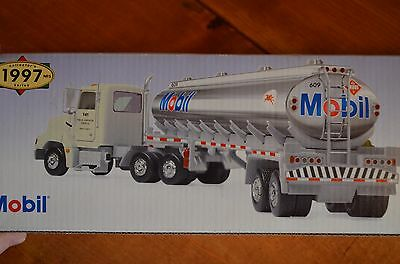 New in Box 1997 Mobil oil gas Limited Edition Toy Tanker Truck