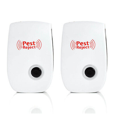Ultrasonic Pest Reject Electronic Magnetic Repeller Anti Mosquito Insect Killers