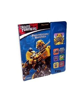Little Play a Sound Transformers Book The Cheap Fast Free Post