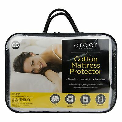 NEW Ardor Cotton Mattress Protector