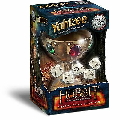 """Genuine-YAHTZEE®: THE HOBBIT   """"The Desolation of Smaug™ Collector's Edition"""""""