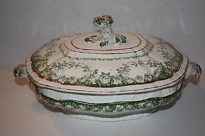 Royal Semi Porcelain Boothe Covered Serving Dish